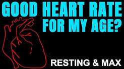 What is a Good Heart Rate for My Age? Both Resting & Maximum