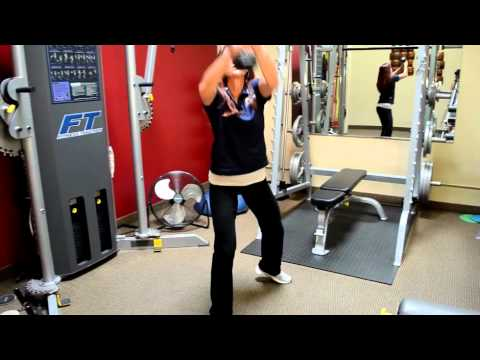 Golf Squats Personal Fitness Training Exercise