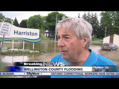 State of emergency declared in Wellington County due to flooding