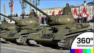 Манежную площадь готовят к проезду военной техники