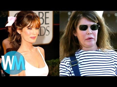Top 10 Celebrities With TERRIBLE Plastic Surgery