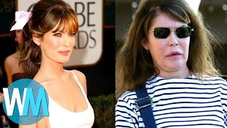 Top 10 Celebrities with TERRIBLE Plastic Surgery streaming