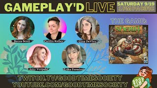SHERIFF OF NOTTINGHAM | Gameplay'd LIVE | Amy, Gina, Erika, Caitlin, Becca