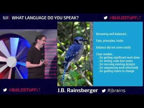 J. B. Rainsberger - The Well-Balanced Programmer