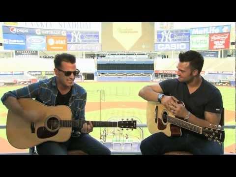 """Heaven"" Acoustic - O.A.R.'s Marc Roberge and Nick Swisher @ Yankee Stadium"