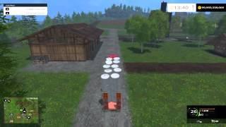 Farming Simulator 2015 - Как продавать тюки с сеном(Всем известно как продавать тюки с сеном, но на этом видео мы покажем как за один раз перевезти сразу же..., 2014-12-20T15:25:48.000Z)