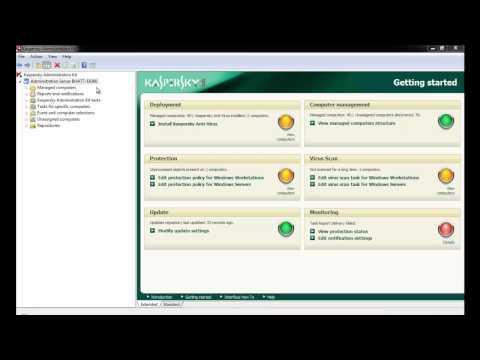 Kaspersky Lab - Clearing AdminKit Update Repository