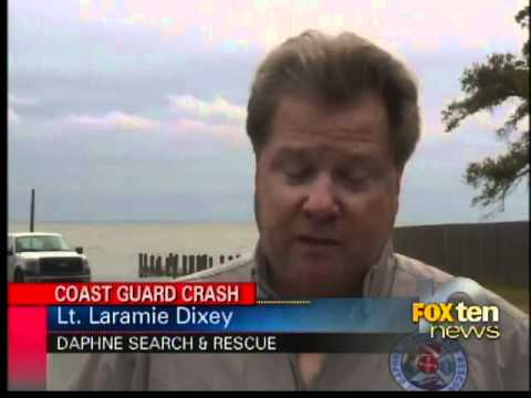 Coast guard wreck search