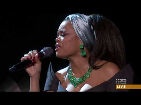 Common and Andra Day Oscar 2018 performance