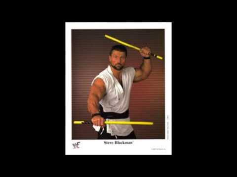 Steve Blackman 1st WWE Theme