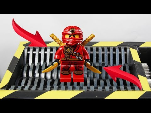 Experiment Huge Shredding  Lego And Toys compilation   The Crusher