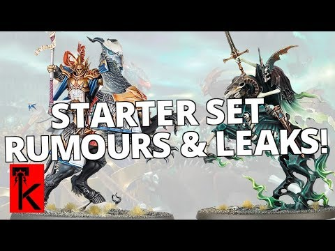 NEW STARTER SET LEAKS, PREDICTIONS AND RUMOURS: Warhammer Age of Sigmar