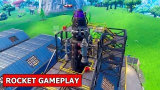 *NEW* ROCKET GAMEPLAY LEAKED! FORTNITE VISITOR ROCKET BUILT GAMEPLAY!