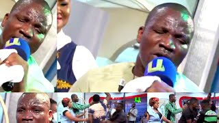 Too Much Anointing!!! Camera man falls under Francis Amo's Powerful Praise&Worship on United Showbiz