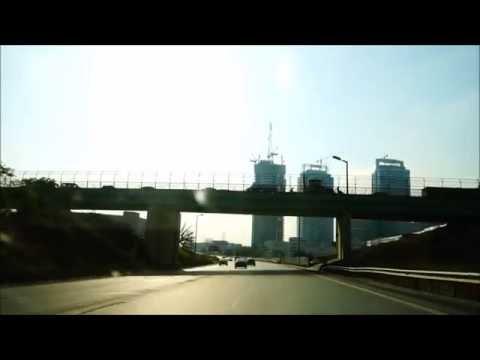 Istanbul O1 Highway Ataşehir finance center/ İstanbul ilk çevre yolu Ataşehir finans merkezi