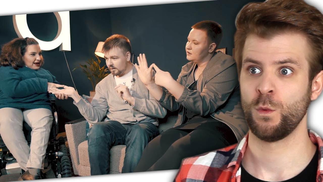 Wie redet man mit jemanden der Taub und Blind ist? - YouTube