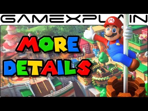 More Super Nintendo World Details in Orlando - Mario Kart, DK Sections + Future Expansions