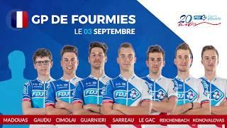 Composition de l'équipe FDJ pour le GP de Fourmies