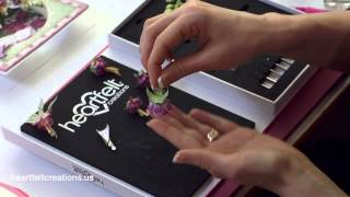 How to make the Fuchsia Flowers by Heartfelt Creations