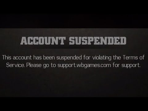 WWE Immortals - Account Banned/Suspended WTF!