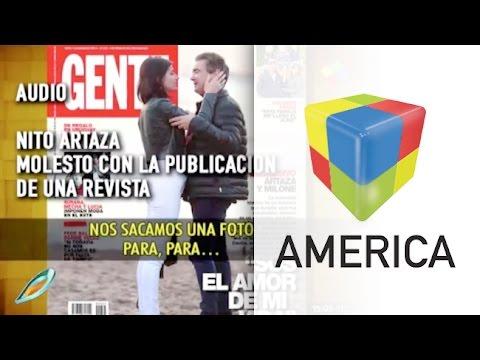 La furia de Nito Artaza contra la revista Gente