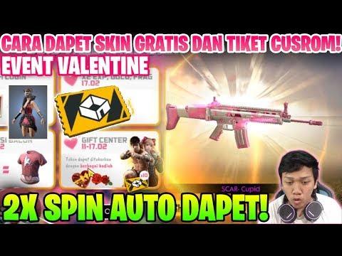 download HOKI 2X SPIN DAPET SCAR CUPID! DAN BAHAS EVENT VALENTINE! - Garena Free Fire