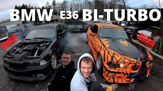 ON FAIT BURNER ! BMW E36 BI-TURBO (325i et 328i) !