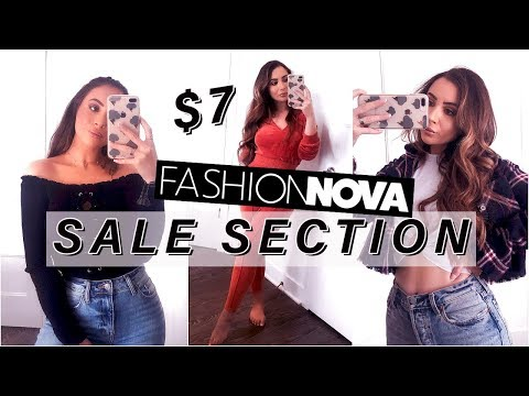 I ONLY WORE THE FASHION NOVA SALE SECTION FOR A WEEK!!