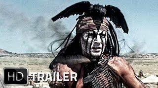 LONE RANGER Trailer German Deutsch HD 2013 | Johnny Depp