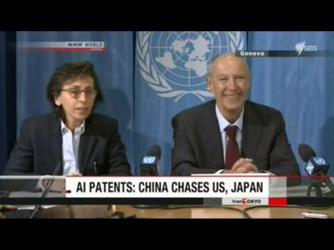 World News – Report World Intellectual Property Organisation – On AI Patients – US, China & Japan