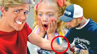 Download I got a real tattoo of Everleigh and surprised her!!! Her reaction was priceless😭 Mp3 and Videos