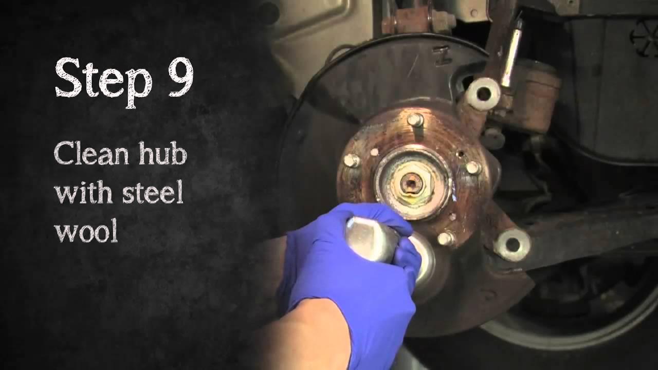 2006 - 2011 8th Generation Honda Civic Brake Pad Install ...