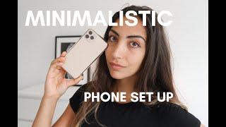 Minimalist Life Style: Phone Set Up * Digital minimalism *
