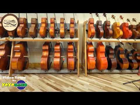 Video Tour of St. Louis, MO Violin Store - KC Strings 1 min