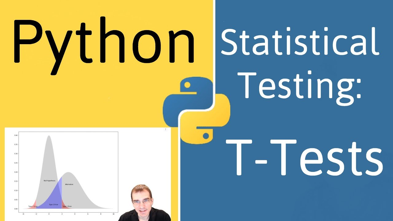 Python for Data Analysis: Hypothesis Testing and T-Tests