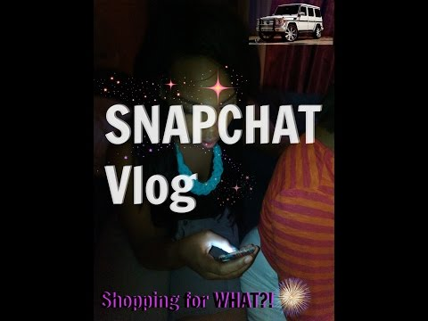 Snapchat Vlog – Shopping NEW car??? ♡