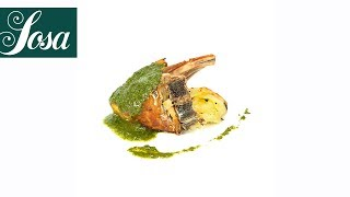 Rack of Lamb with Mint Sauce - Culinary Journey Mint Sauce (traditional application)