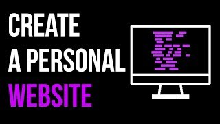 How to Create a Personal Website Part 1 + Bootstrap and HTML5UP