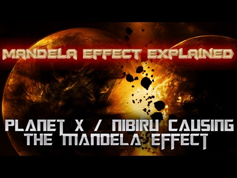 Mandela Effect Explained? Planet X Nibiru Causing the Mandela Effect