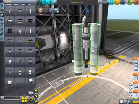 Kerbal Space Program Tutorial Build and Fly a Basic Rocket In 1.0