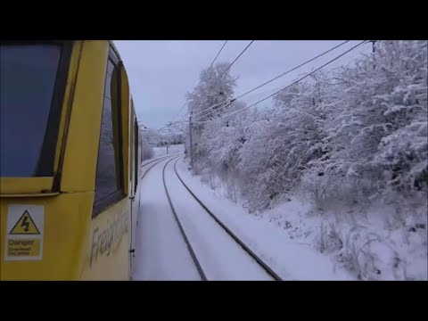 EDINBURGH to GLASGOW | Freightliner 90045 & Diverted Caledonian Sleeper *RARE*