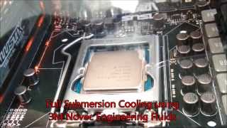 Computer Liquid Cooling (Submersion) with 3M Novec