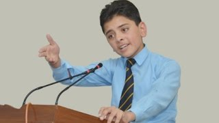 Allama iqbal ka ishq e rasool by children at bahawalpur latest speaking