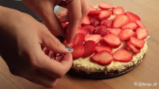 ПП чизкейк с рикоттой и клубникой | Простой рецепт диетического чизкейка