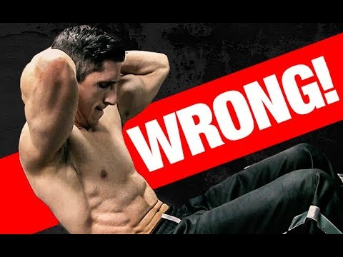 Top 5 WORST Ab Exercise Mistakes!