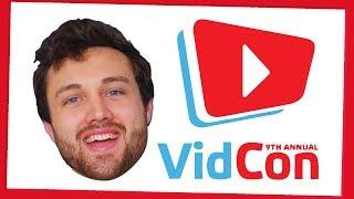 I'll be at VidCon 2018 - cameramanjohn made this video 🚫🦀
