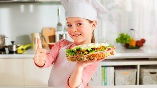 Как сделать детский бутерброд?