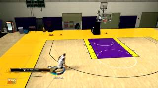 NBA 2K13 TUTORIALS How to do the under the leg 360 DUNK [HD] (PC/XBOX360/PS3/IPHONE/IPAD)