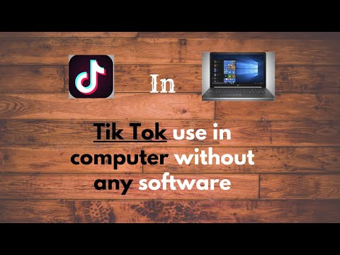 How to Use Tik Tok on Pc without Emulator(very easy) || in Urdu&Hindi