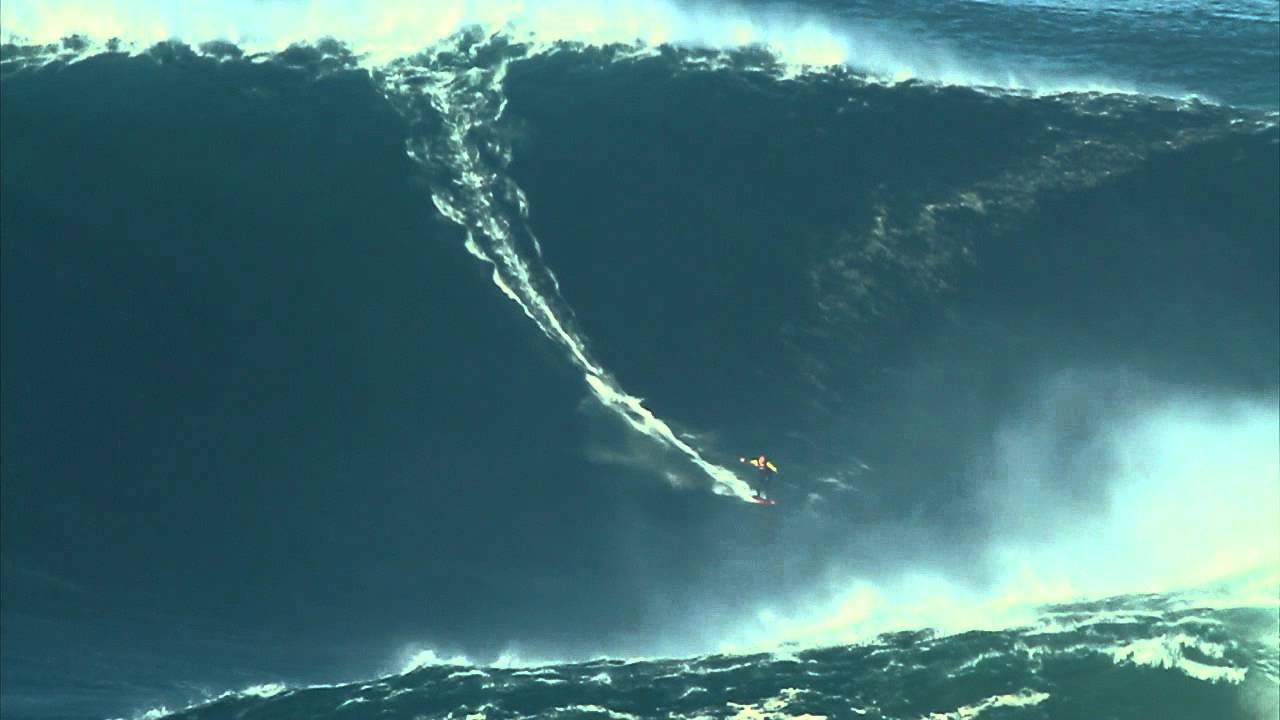 Garrett Mcnamara Record Breaking 90 Foot Wave Youtube